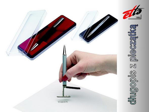 Pieczątka w długopisie
